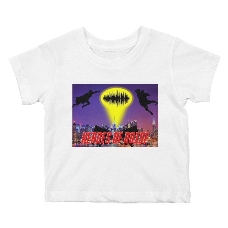 Heroes of Noise Take Flight Kids Baby T-Shirt by Heroes of Noise Artist Shop