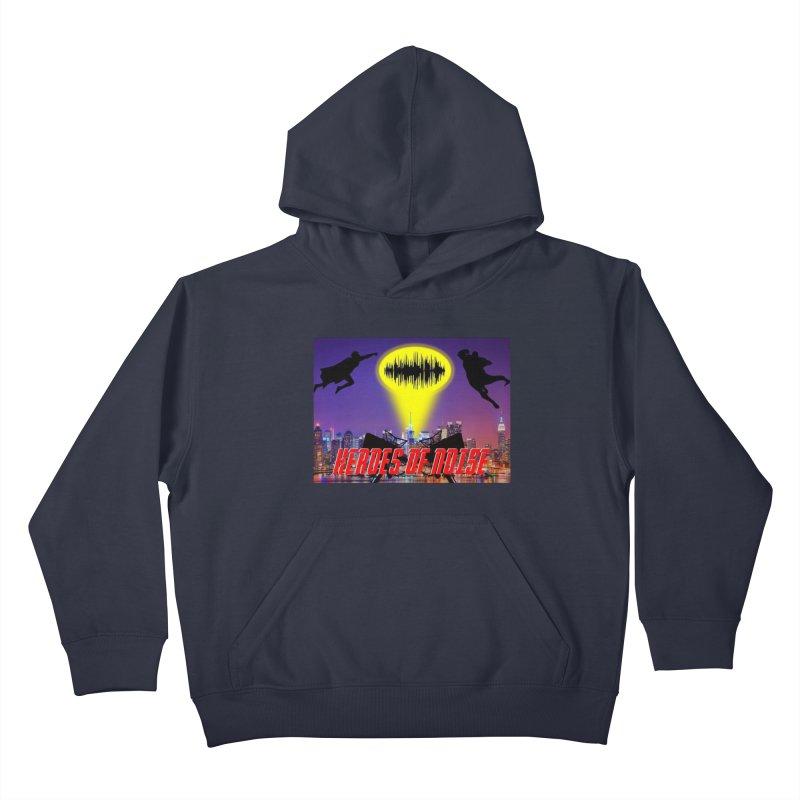 Heroes of Noise Take Flight Kids Pullover Hoody by Heroes of Noise Artist Shop