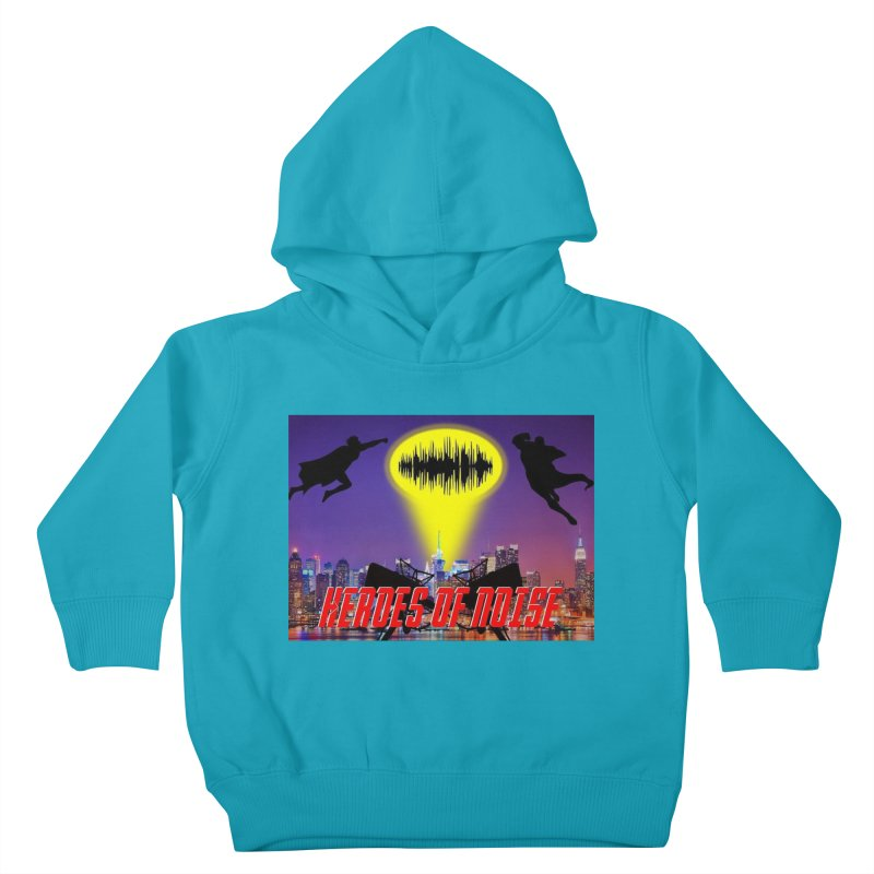 Heroes of Noise Take Flight Kids Toddler Pullover Hoody by Heroes of Noise Artist Shop