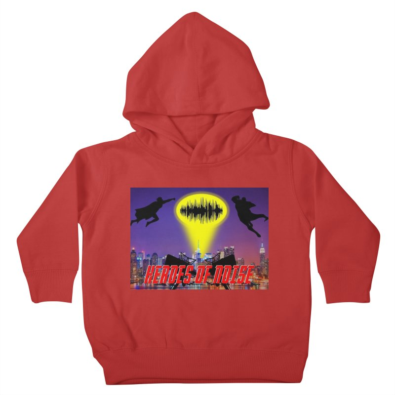 Heroes of Noise Take Flight Kids Toddler Pullover Hoody by Heroes of Noise Artist Shop