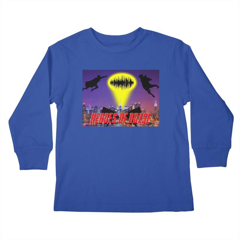 Heroes of Noise Take Flight Kids Longsleeve T-Shirt by Heroes of Noise Artist Shop