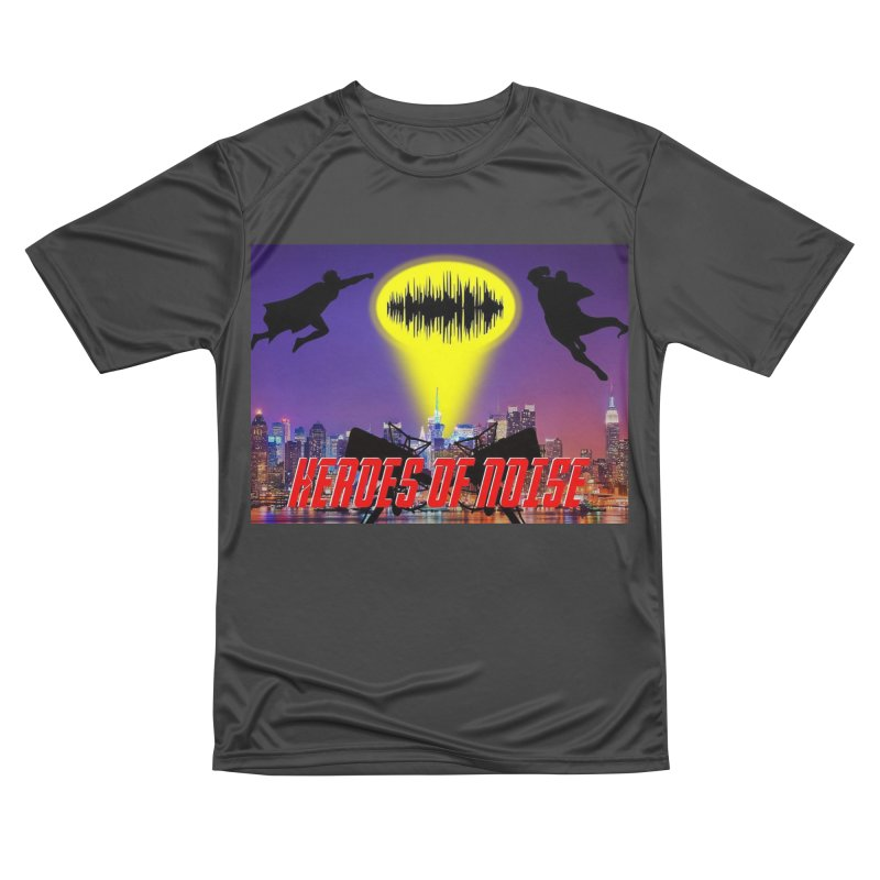 Heroes of Noise Take Flight Men's Performance T-Shirt by Heroes of Noise Artist Shop