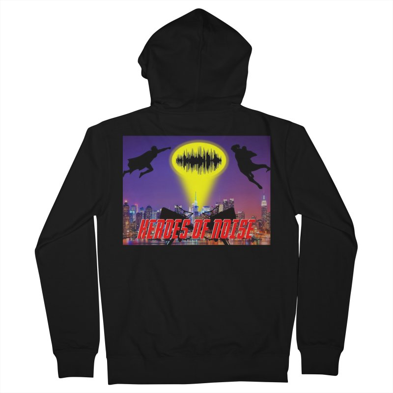 Heroes of Noise Take Flight Men's Zip-Up Hoody by Heroes of Noise Artist Shop