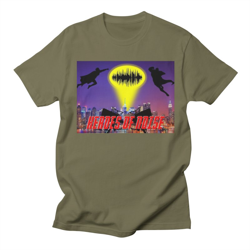 Heroes of Noise Take Flight Men's T-Shirt by Heroes of Noise Artist Shop