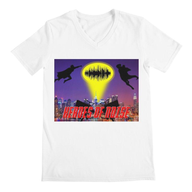 Heroes of Noise Take Flight Men's V-Neck by Heroes of Noise Artist Shop