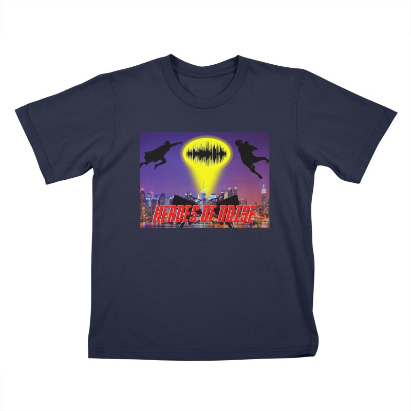 Heroes of Noise Take Flight Kids T-Shirt by Heroes of Noise Artist Shop