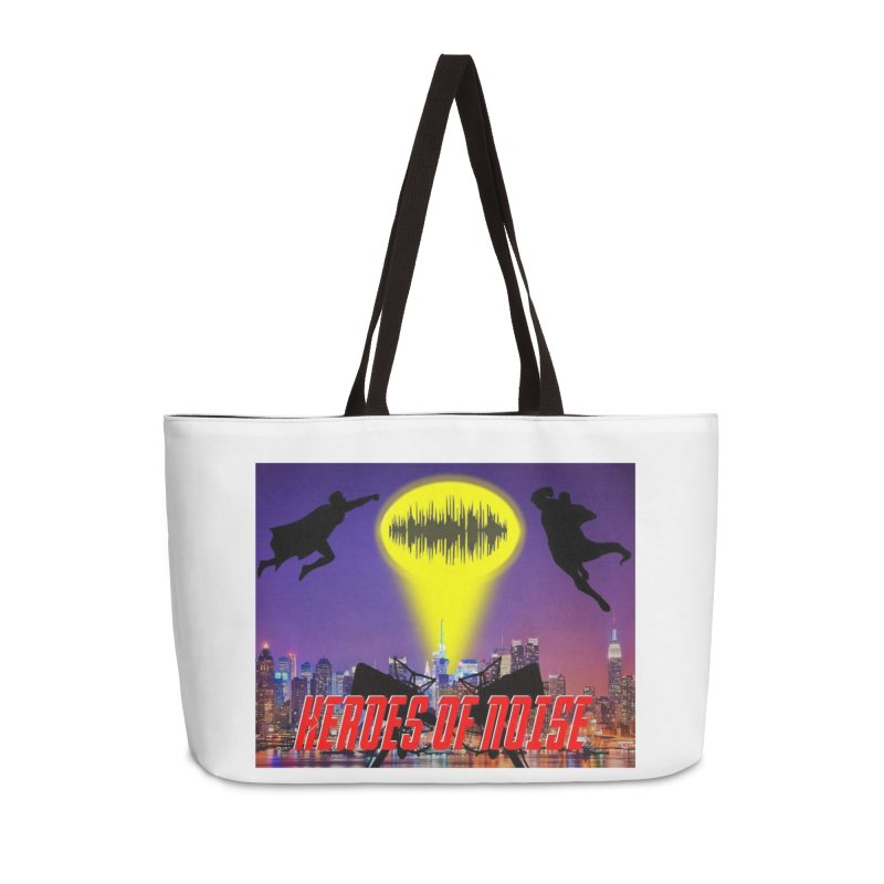 Heroes of Noise Take Flight Accessories Weekender Bag Bag by Heroes of Noise Artist Shop