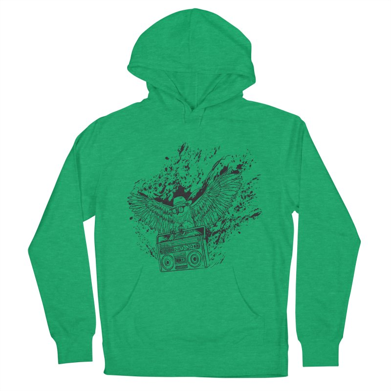 Nightflight Women's Pullover Hoody by Supervoid Artist Shop