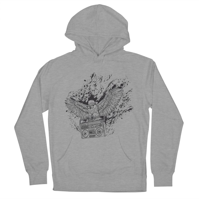 Nightflight Men's French Terry Pullover Hoody by Supervoid Artist Shop