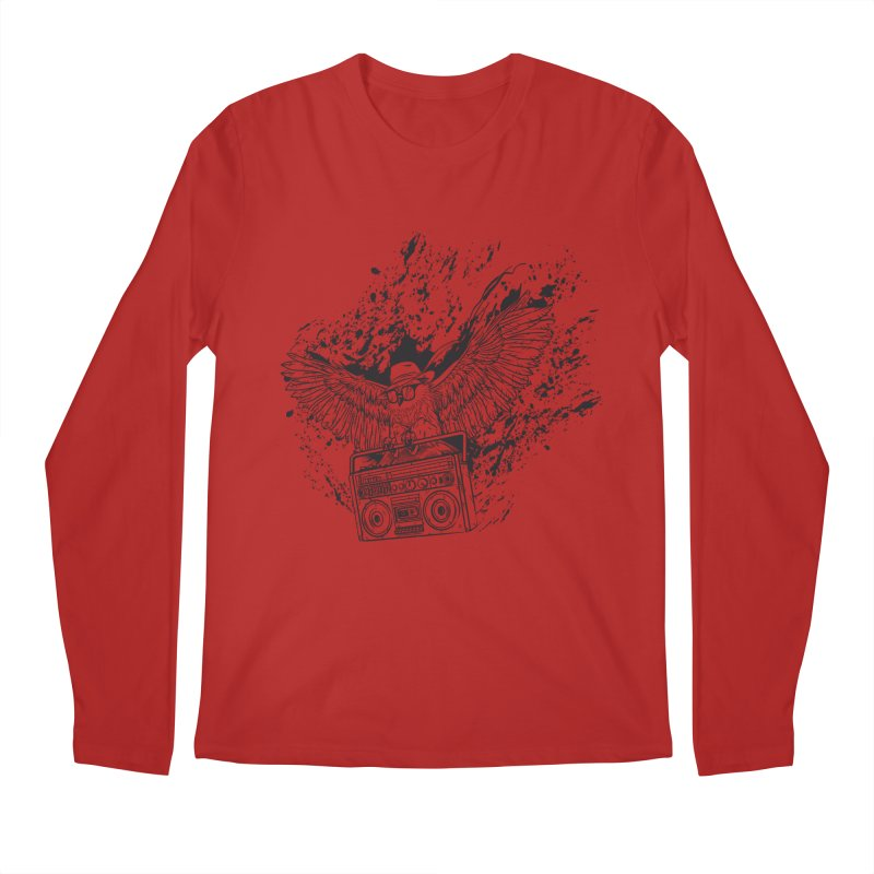 Nightflight Men's Longsleeve T-Shirt by Supervoid Artist Shop