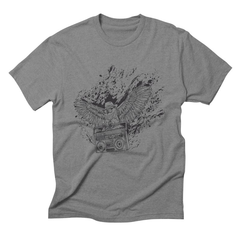 Nightflight Men's Triblend T-Shirt by Supervoid Artist Shop