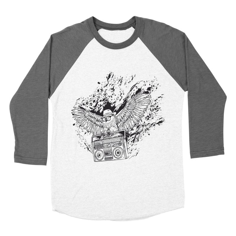Nightflight Men's Baseball Triblend Longsleeve T-Shirt by Supervoid Artist Shop