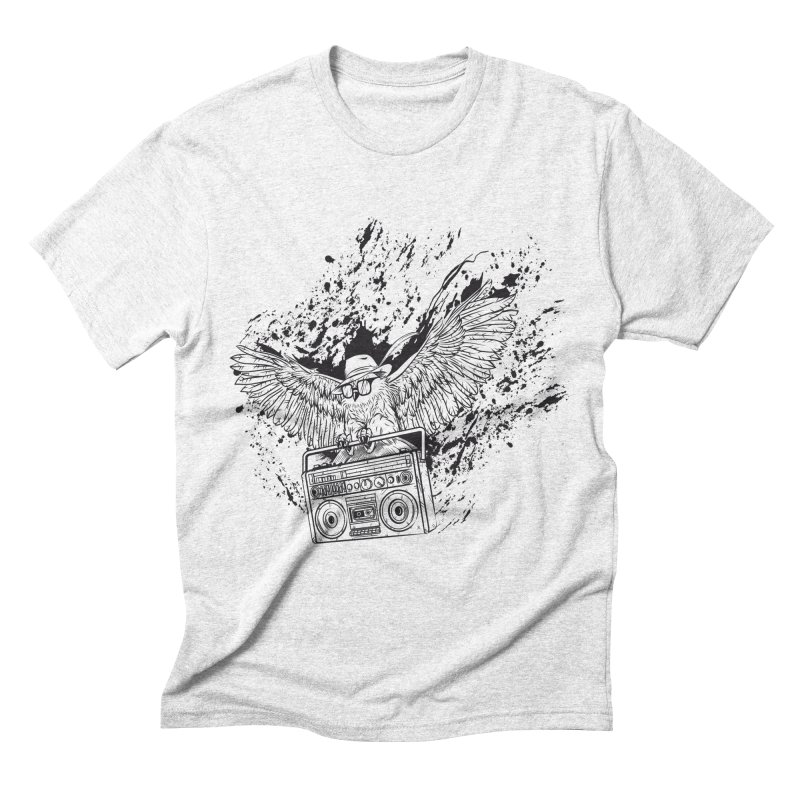 Nightflight Men's Triblend T-shirt by Supervoid Artist Shop