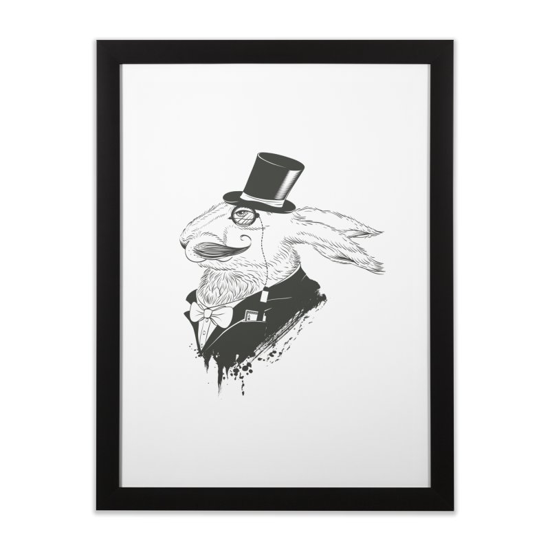 Portrait of an Escapist Home Framed Fine Art Print by Supervoid Artist Shop