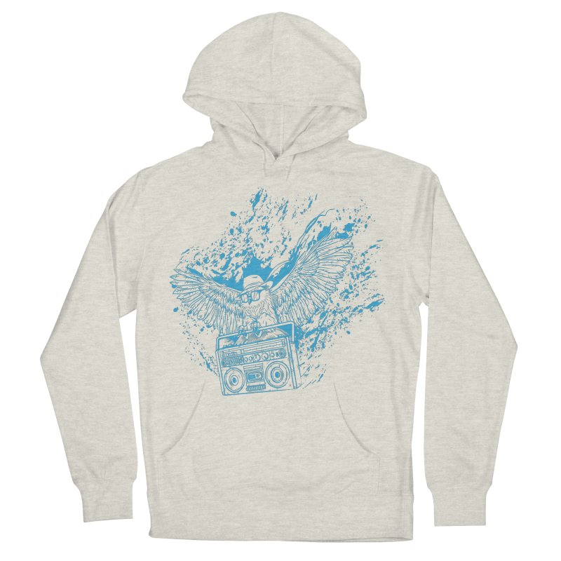 Nightflight Men's Pullover Hoody by Supervoid Artist Shop