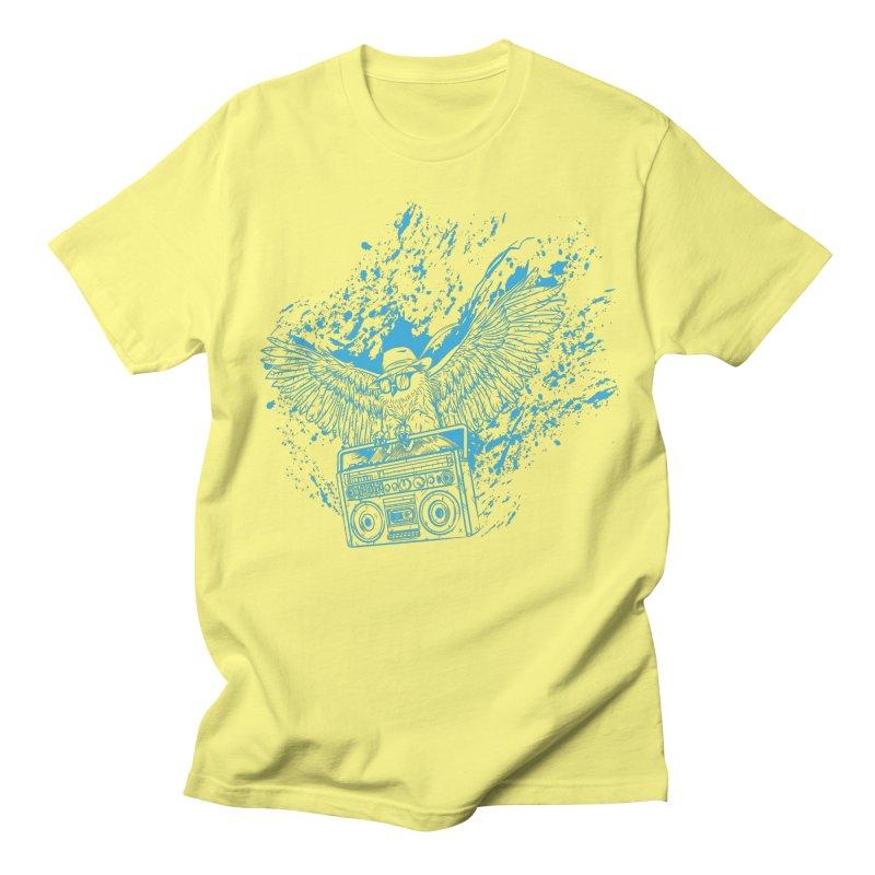 Nightflight Men's Regular T-Shirt by Supervoid Artist Shop