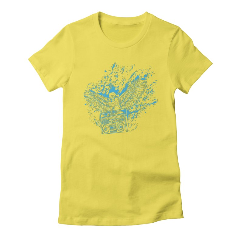 Nightflight Women's T-Shirt by Supervoid Artist Shop