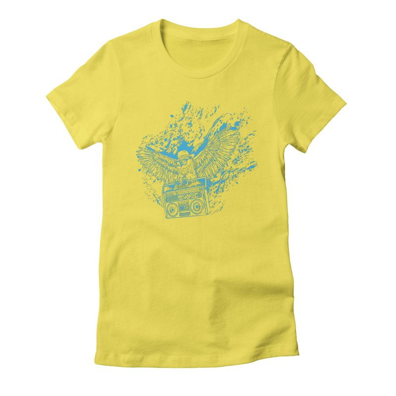 Nightflight Women's T-Shirt by Supervoid Artist Shop