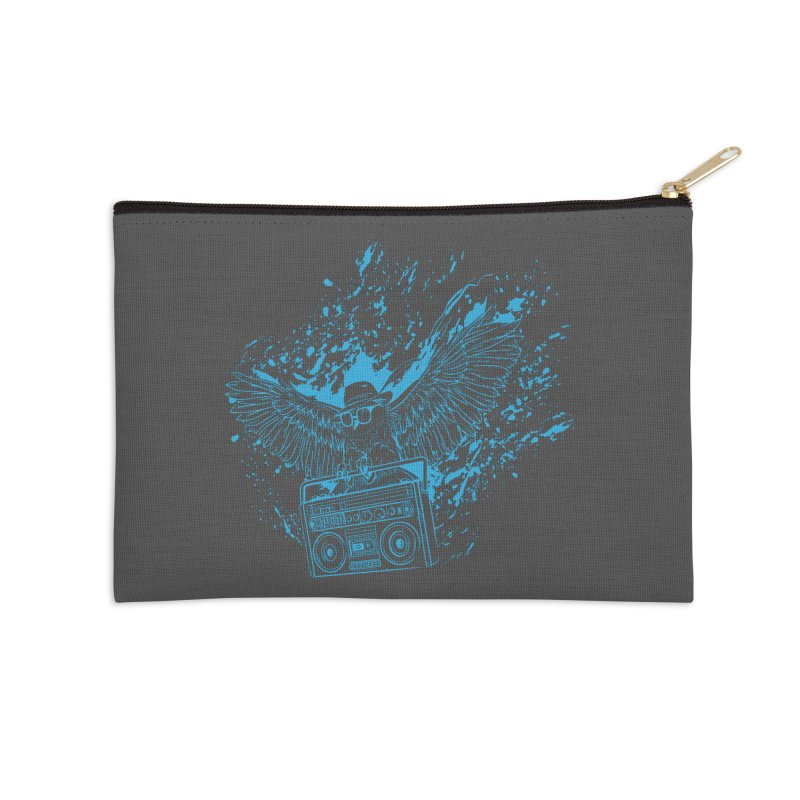 Nightflight Accessories Zip Pouch by Supervoid Artist Shop