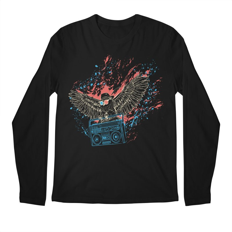 Nightflight Men's Regular Longsleeve T-Shirt by Supervoid Artist Shop