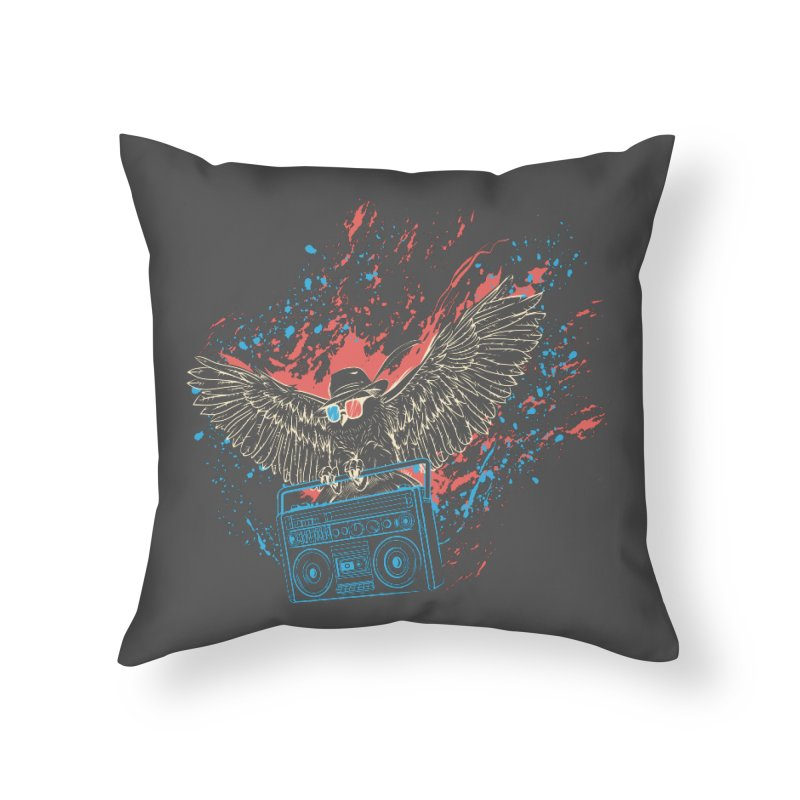 Nightflight Home Throw Pillow by Supervoid Artist Shop