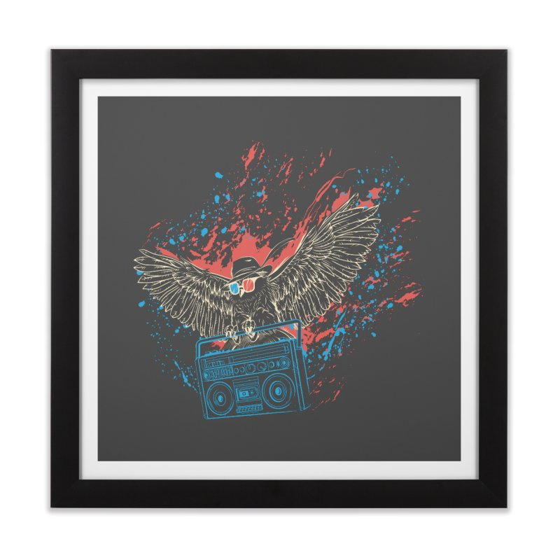 Nightflight Home Framed Fine Art Print by Supervoid Artist Shop