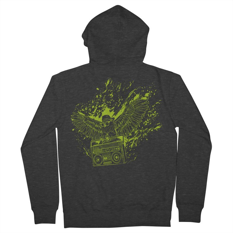 Nightflight Men's Zip-Up Hoody by Supervoid Artist Shop