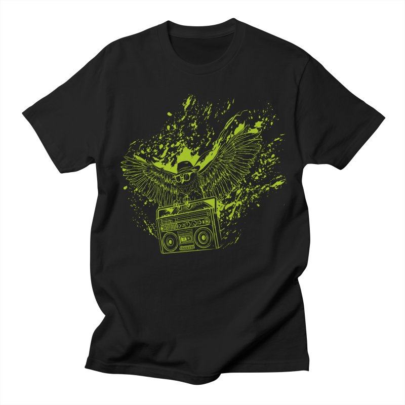 Nightflight Men's Regular T-Shirt by Supervoid Artist Shop