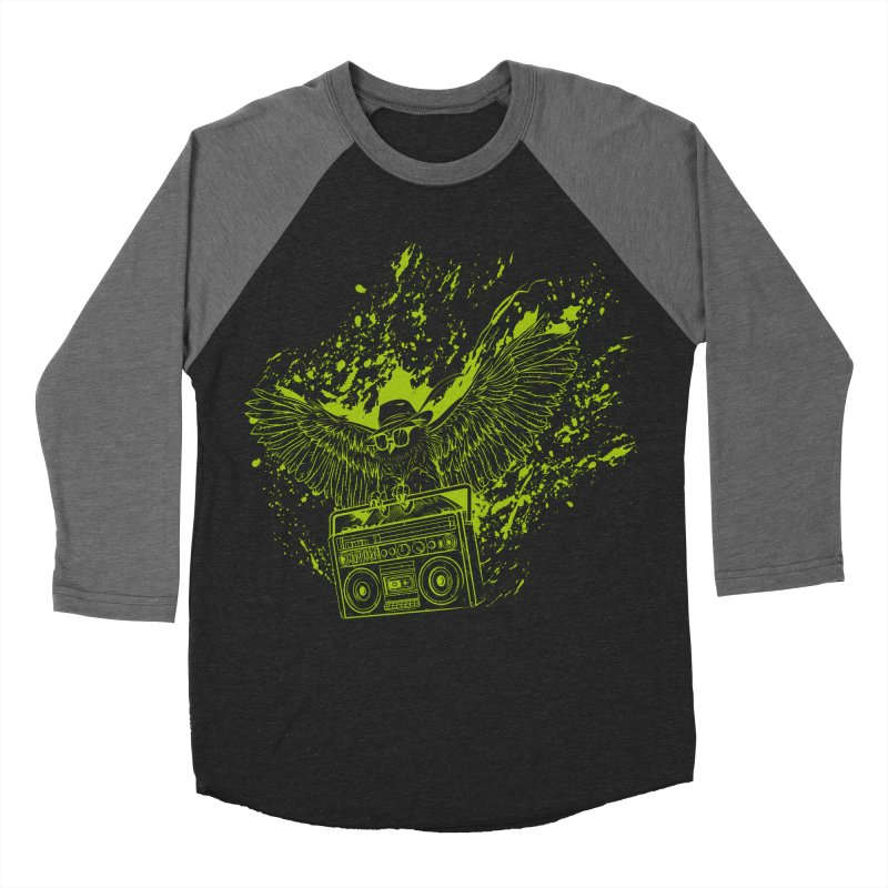 Nightflight Men's Baseball Triblend T-Shirt by Supervoid Artist Shop