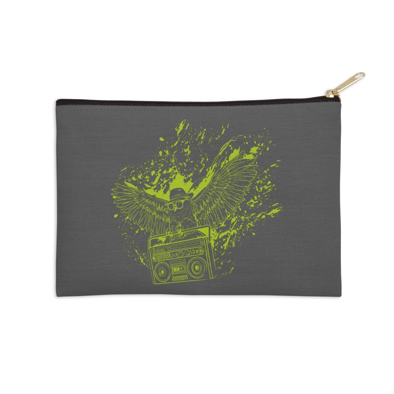 Nightflight Accessories Zip Pouch by Supervoid Artist Shop