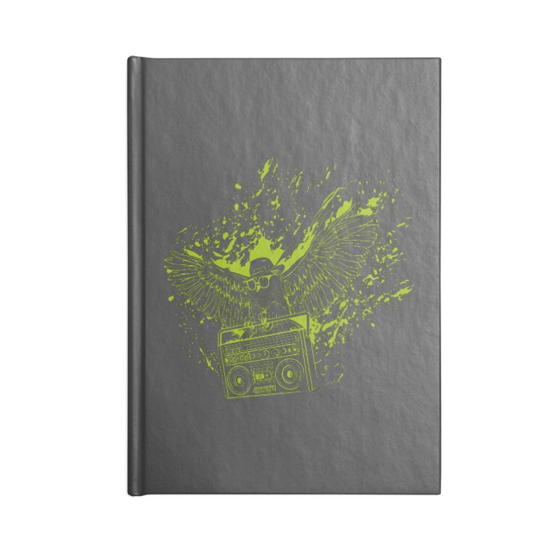 Nightflight Accessories Blank Journal Notebook by Supervoid Artist Shop