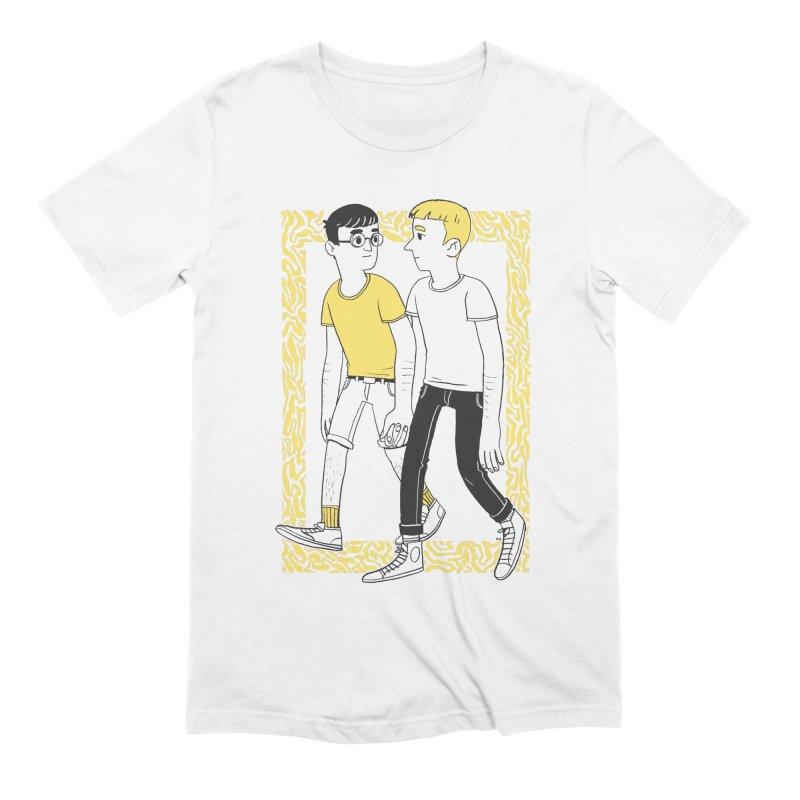 Lover Boys Men's Extra Soft T-Shirt by Hertz Alegrio