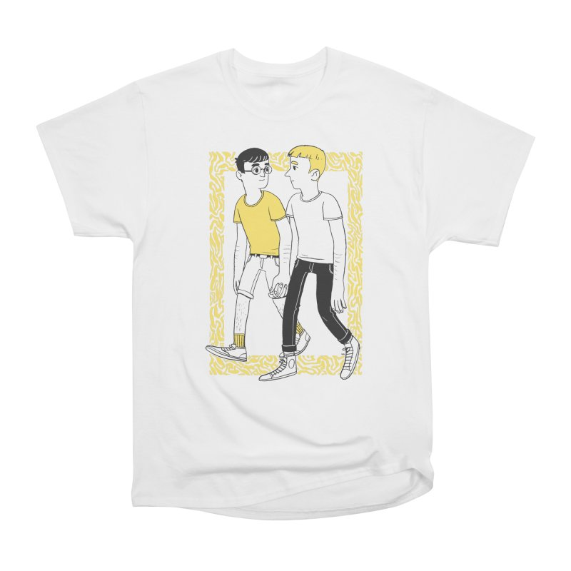 Lover Boys Women's Heavyweight Unisex T-Shirt by Hertz Alegrio