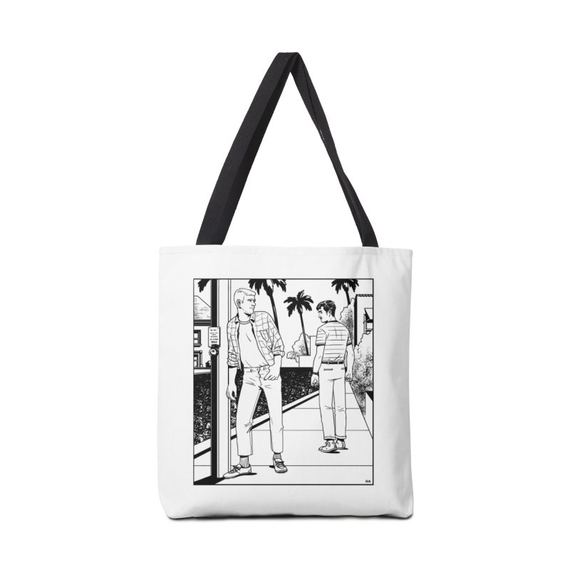 Male Gaze in Tote Bag by Hertz Alegrio