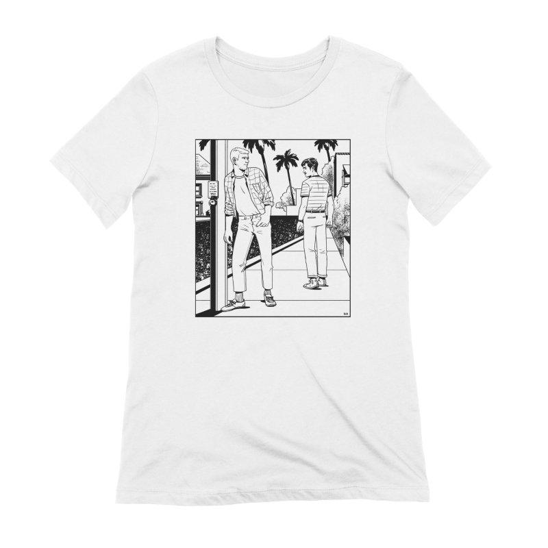 Male Gaze Women's Extra Soft T-Shirt by Hertz Alegrio