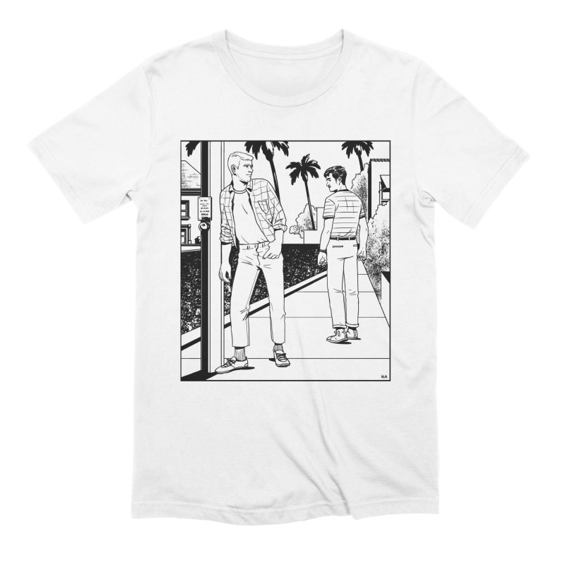 Male Gaze Men's Extra Soft T-Shirt by Hertz Alegrio