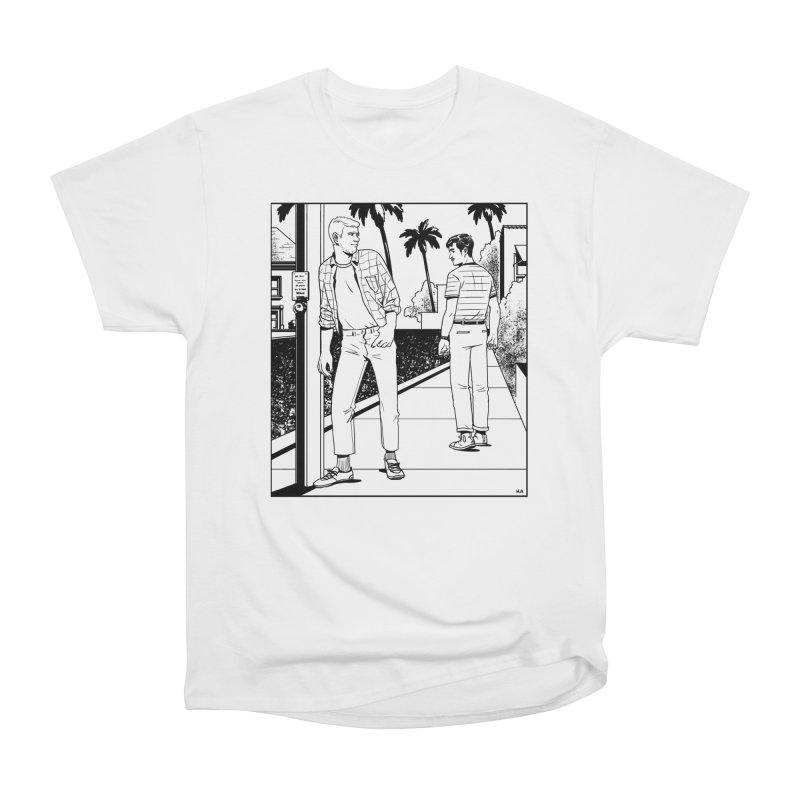 Male Gaze Women's Heavyweight Unisex T-Shirt by Hertz Alegrio