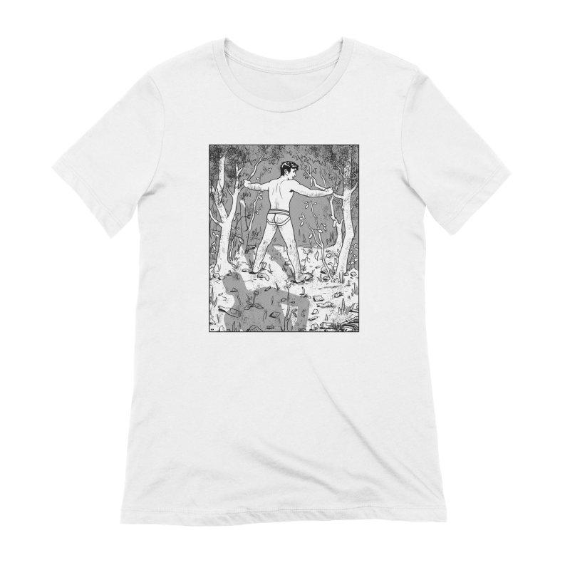 Elysian Woods Women's Extra Soft T-Shirt by Hertz Alegrio