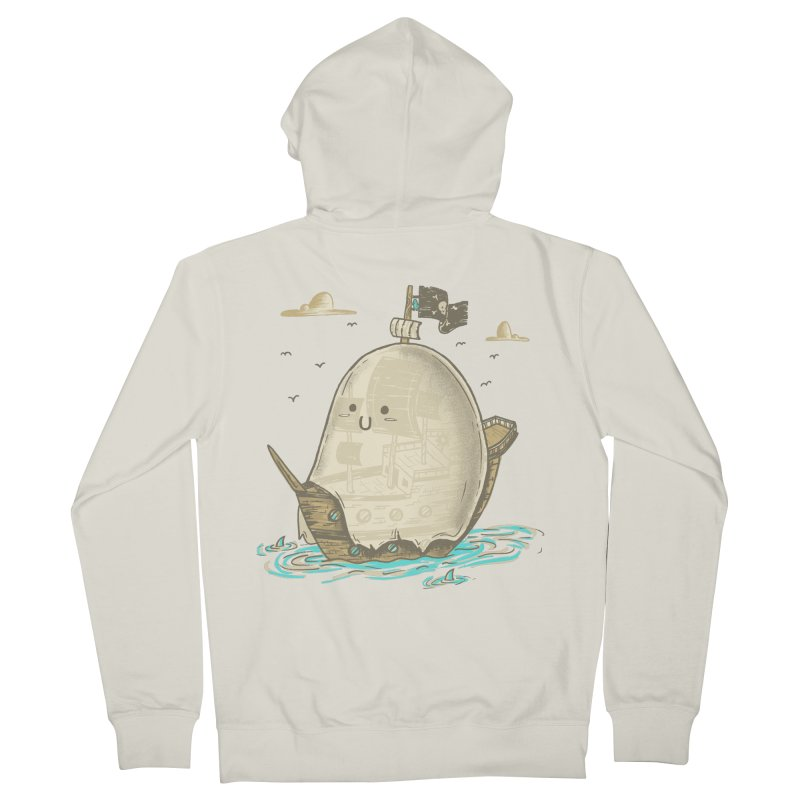 Ghost Ship Women's Zip-Up Hoody by hesor's Artist Shop