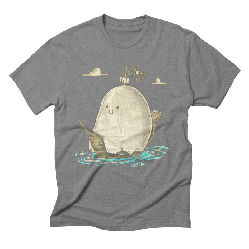 Ghost Ship Men's Triblend T-Shirt by hesor's Artist Shop