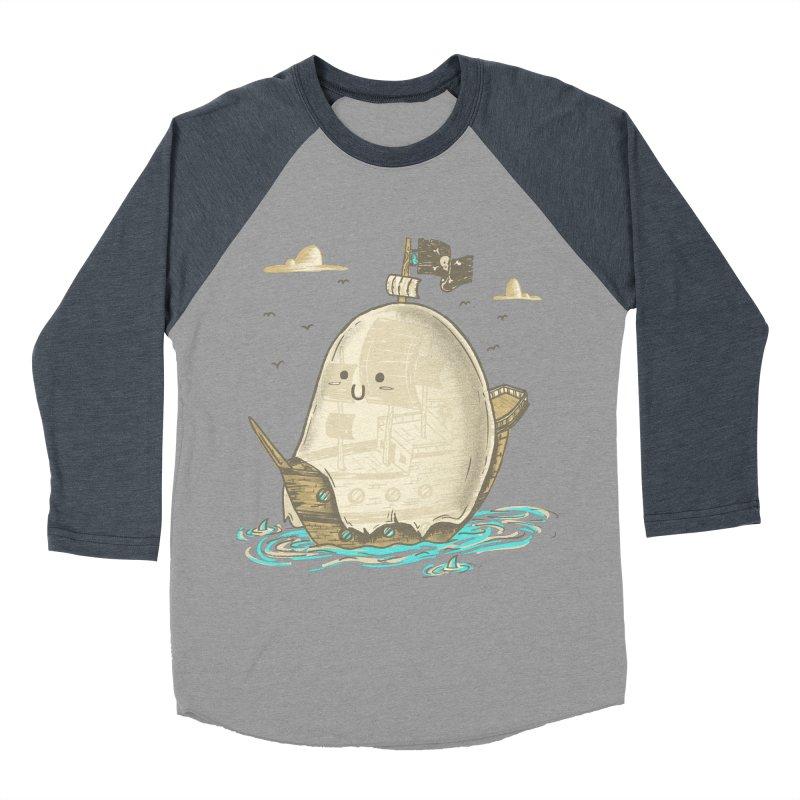 Ghost Ship Women's Baseball Triblend T-Shirt by hesor's Artist Shop