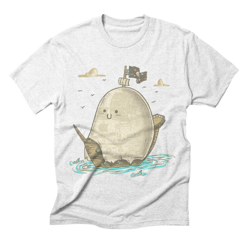 Ghost Ship Men's Triblend T-shirt by hesor's Artist Shop