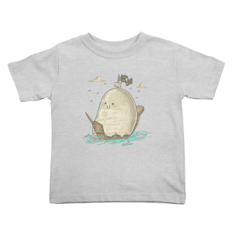 Ghost Ship Kids Toddler T-Shirt by hesor's Artist Shop