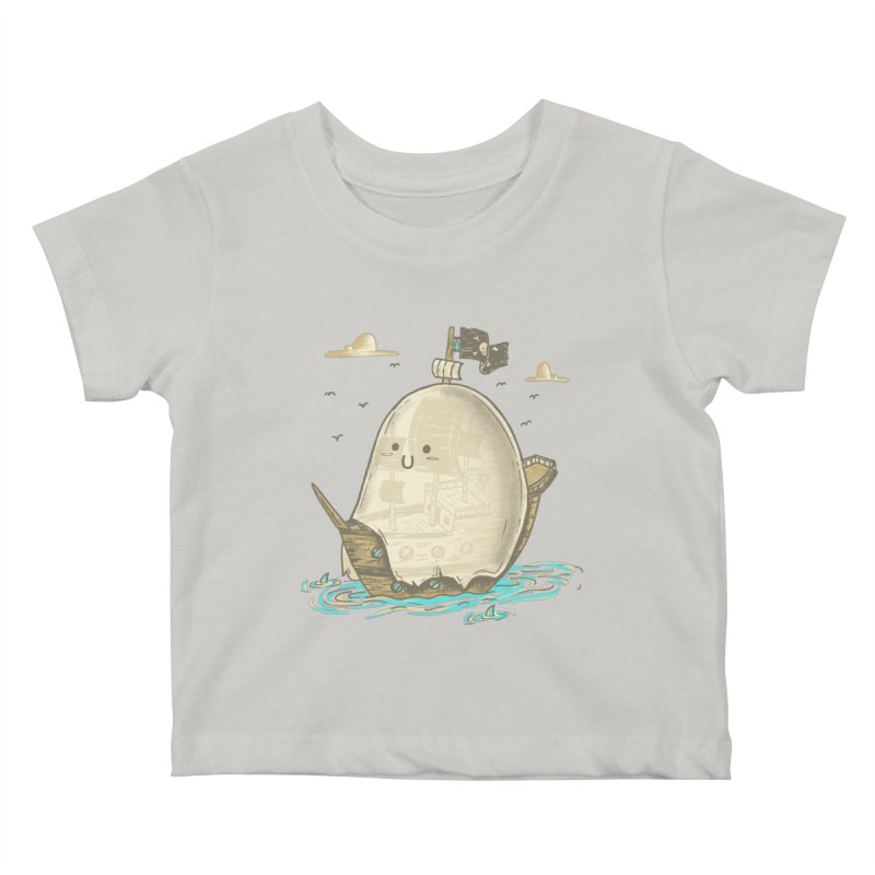 Ghost Ship Kids Baby T-Shirt by hesor's Artist Shop