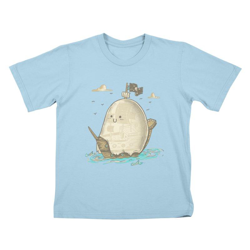 Ghost Ship Kids T-Shirt by hesor's Artist Shop