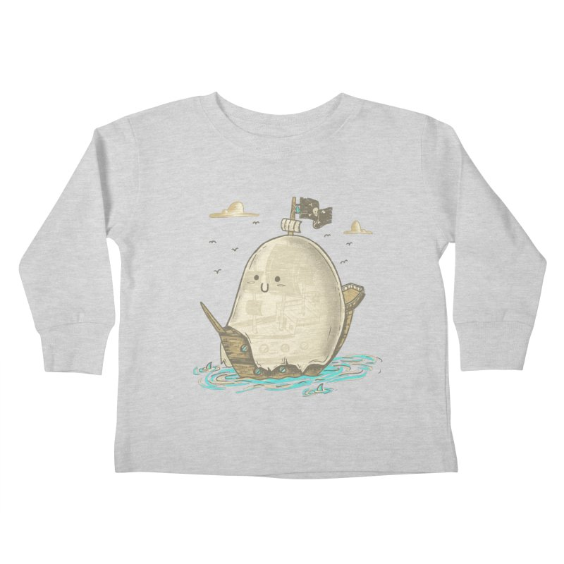 Ghost Ship Kids Toddler Longsleeve T-Shirt by hesor's Artist Shop