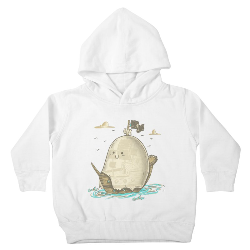 Ghost Ship Kids Toddler Pullover Hoody by hesor's Artist Shop