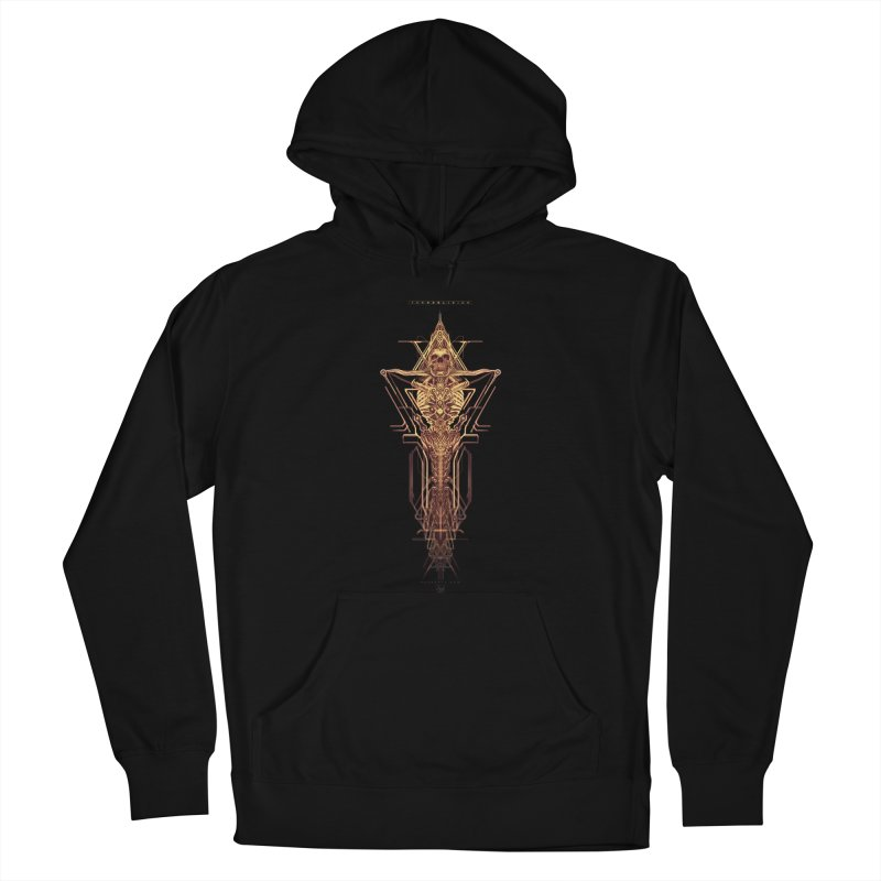 TEKNOBLIVION II - Golden Edition Women's Pullover Hoody by HEXAD - Art and Apparel