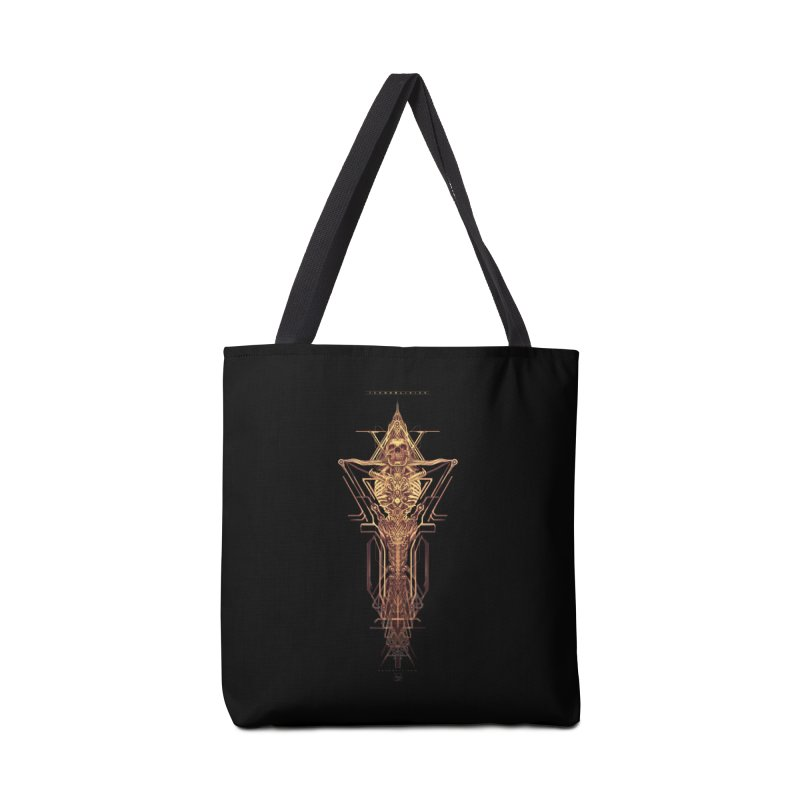 TEKNOBLIVION II - Golden Edition Accessories Bag by HEXAD - Art and Apparel