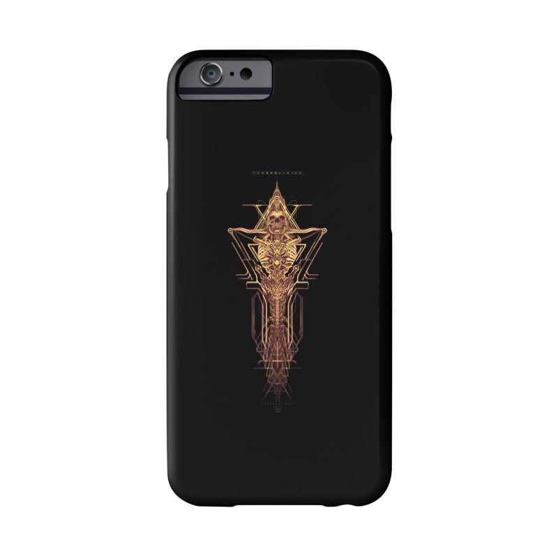 TEKNOBLIVION II - Golden Edition Accessories Phone Case by HEXAD - Art and Apparel
